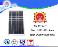 high efficiency PV solar pane price per watt solar panel