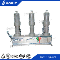 ISO9001 12kv outdoor vacuum circuit breaker ZW32-12 with automatic recloser