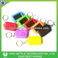 Customer Logo Solar Keychain, Solar Key holder,Solar Key Chain