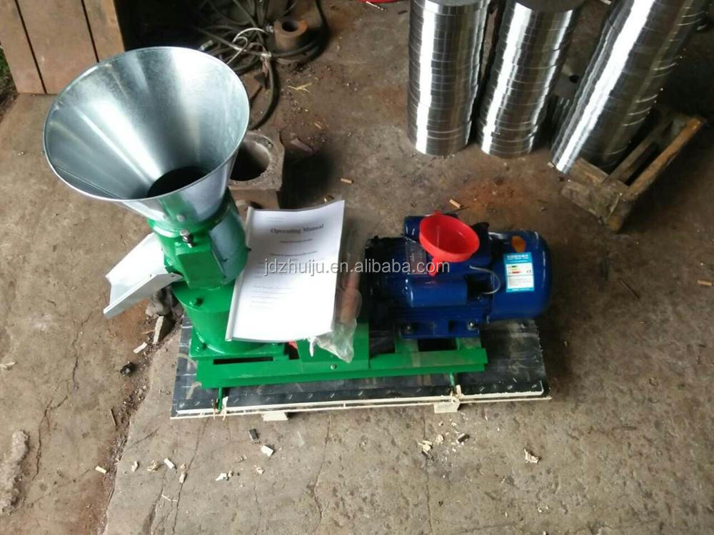 80-100kg/h animal farming equipment chicken feed pellet machine