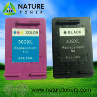 Remanufactured ink cartridge 302XL for HP printer