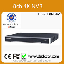 DS-7608NI-K2 Hikvision 8CH 4K H.265 Network Video Recorder support 2HDDs