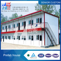 Firm steel structure pre-fabricated house