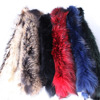Chinese Raccoon Fur Dyed Solid Color
