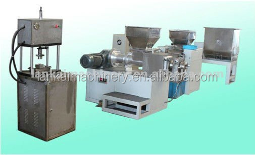 automatic whole line of soap machine /soap making machine line /soap extruder