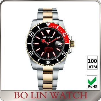 super luminous BGW9 OEM factory watches 100ATM diving watches Sapphire glass stainless steel watches