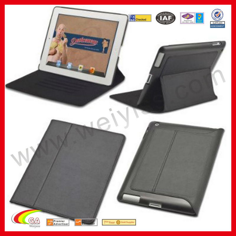 Cover cases for android tablet,black vegan leather magnetic android tablet,unique tablet smart case cover