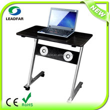 Removable multimedia MDF laptop table with fan