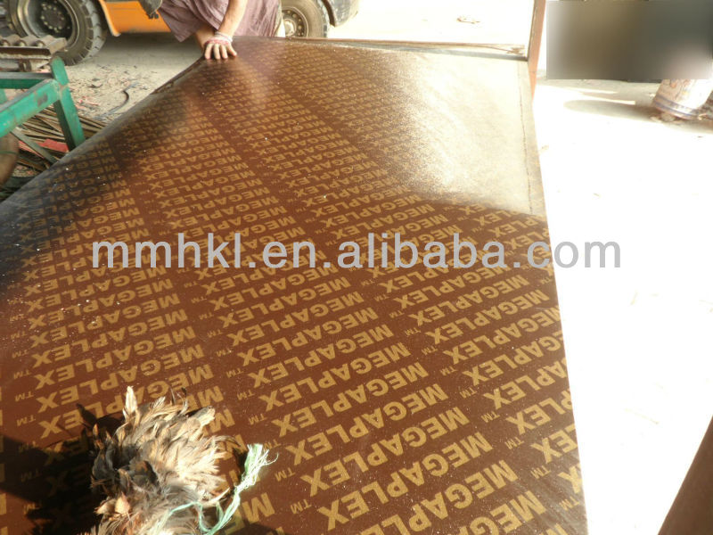 Megaplex (6-30mm) black film faced plywood/Fancy Plywood/Building Construction Materials