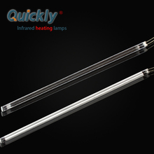 Infrared heating element quartz tube ir lamp for glass bending and laminating