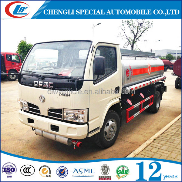 Dongfeng 4x2 5cbm oil filling truck for sale