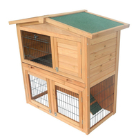 Two Story Wooden Cheap Rabbit Hutches