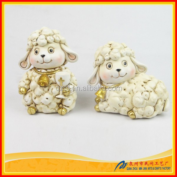 2015 Chinese New Year Symbol Very Cute Animal Sculpture