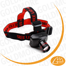 Goldmore 2 Adjustable LED 160 Lumens head light, 5W 3 Modes Head torch lamp, zoom head lamp