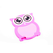 Rubber animal shape PC case silicone bumper case for Ipaid