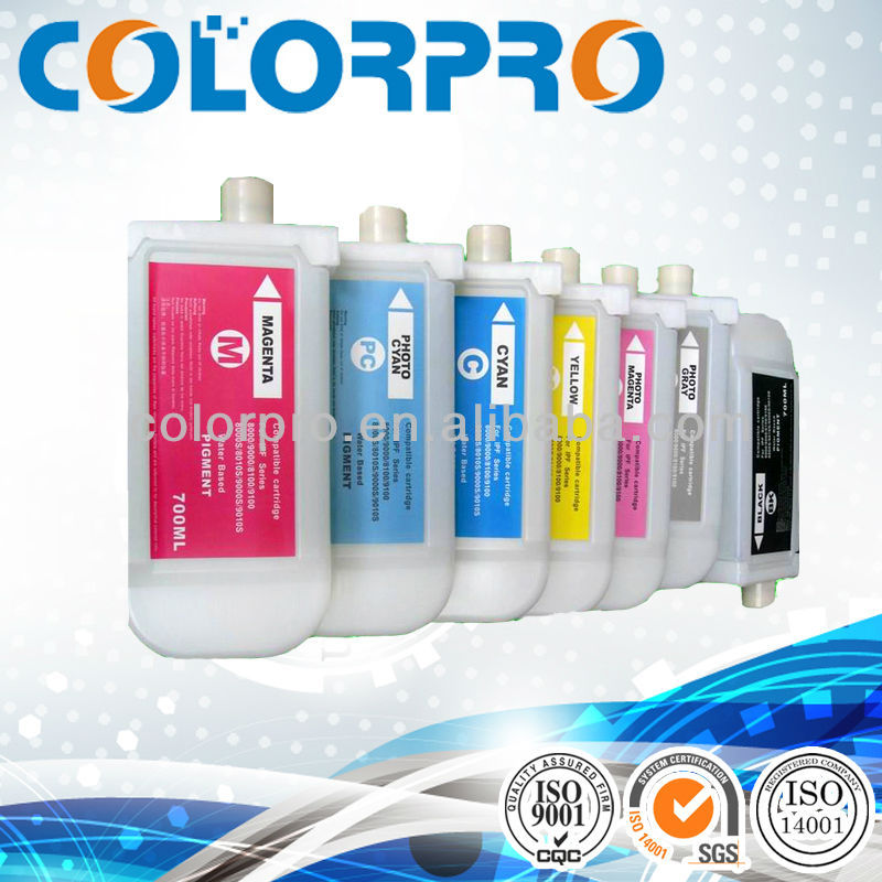 New compatible PFI-704 ink cartridge with 700ml pigment ink for Canon iPF8300