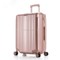100 PC Trolley Luggage Suitcases Spinner