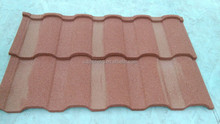 Bent Roof Tile Color Stone Coated Metal Corrugated Roof Tile/Plain Roofing Sheet