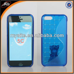 Wholesale price S cube tpu cell phone case for tmobile Iphone 5C