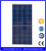 A Grade sola cell Made Polycrystalline silicon 125w solae panel price