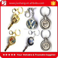 Hot selling customized branded car logo metal keychain