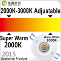 83mm Cutout 13W 15W led light downlight CCT Adjustable 2000-2800k