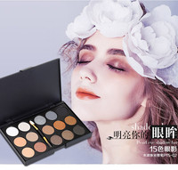 Manufacturer Wholesale Make Up Long Lasting 15 Colors eye shadow