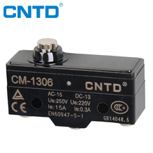 CNTD High Accuracy Miniature Push Button Micro Switch 220V with CE TUV Z-15GD-B(CM-1306)