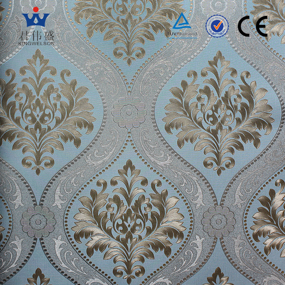 3D Korea design vinyl wallpaper office decorating distributors wanted Zhejiang Wallpaper Supplier OEM/ODM/OBM Service