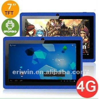 ZX-MD7001 Q88 cheapest 7 inch capacitive 5 point touch screen most hot selling tablet PC