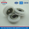Plastics Office Equipment Mini Deep Groove Ball Bearing MR106