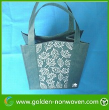Cheap printed printed non woven bags,customize tnt shopping bags, non woven die cut bag