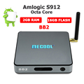 Android tv box 2gb ram 16gb rom BB2 S912 Octa Core Processor KODI 17.0 Pre-Loaded