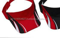 Sublimated patterns polyester Mesh Sports Visors, in all colors and custom printing