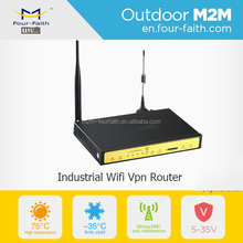 wifi router for vehicle 4g lte 3g wcdma rj45 port modem industrial F3834 i