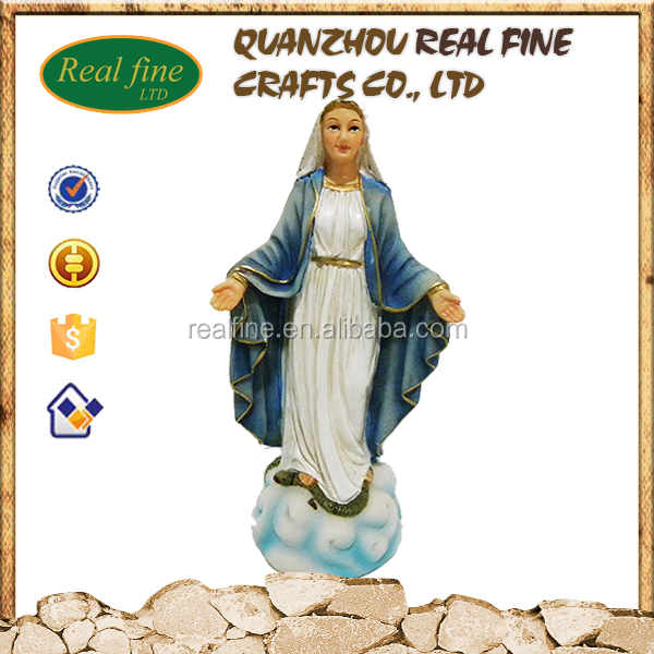 Virgin Mary Religious Items Our Lady Of Grace Resin Statues
