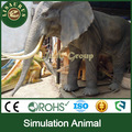 Lisaurus-KL- Customized life size artificial elephant for shopping mall