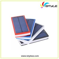 Portable 11000mAh solar power bank for laptop emergency mobile battery charger