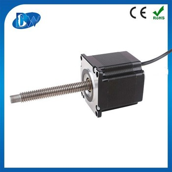 High quality nema 23 lead screw changzhou motor