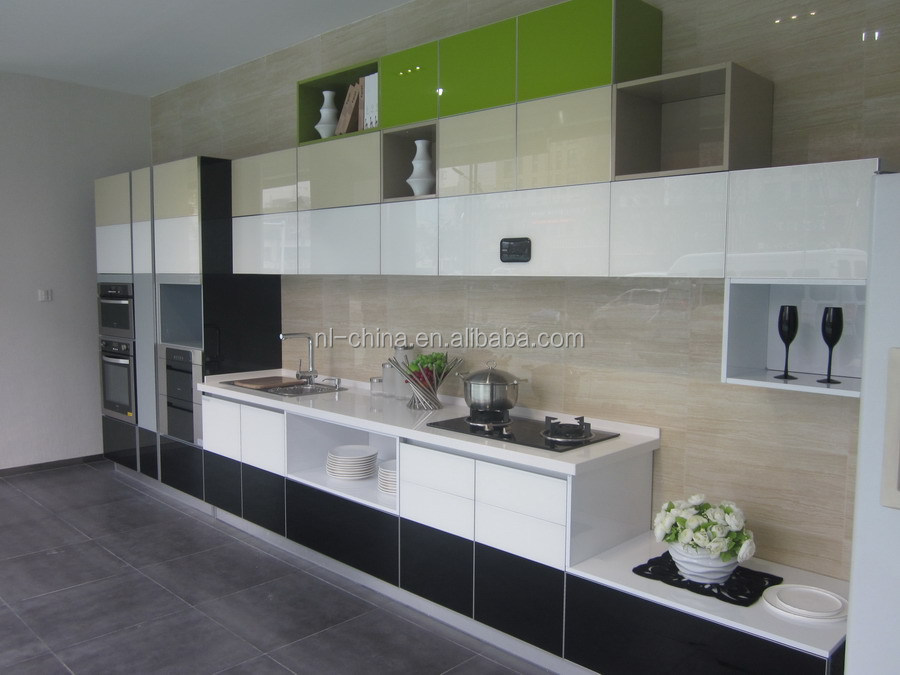 Shopping MDF wall hanging kitchen cabinet simple designs ghana kitchen cabinet