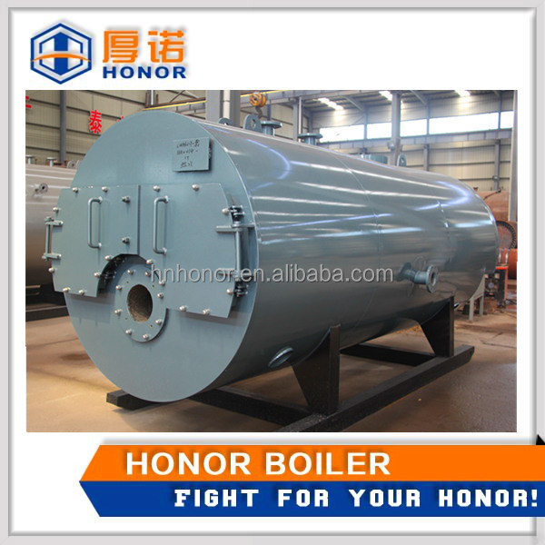 Horizontal 3-Pass Oil Gas Fired Commercial Hot Water Boiler Prices