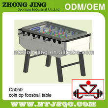 2017 coin operated soccer table,coin operated football table,coin operated kids foosball table