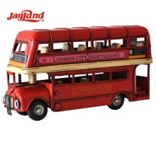 Antique 1905 London double decker bus model