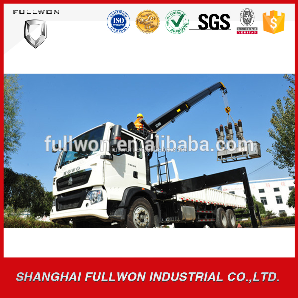 Promotion telescopic boom 6 ton T5G truck mounted crane manufacturer for sale