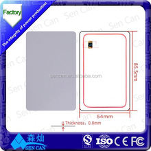 High frequency IC copy white card (reusable)