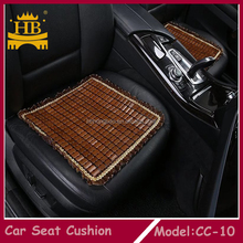Hot selling bamboo cool woodbead car seat cover,car seat cushion