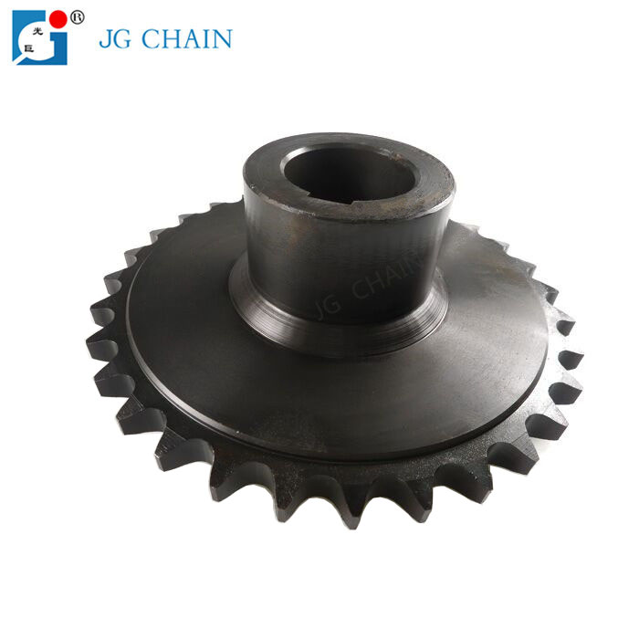 Roller chain transmission set alloy steel standard chain sprockets