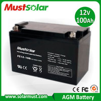 Sealed 12V 100AH Lead Acid Electric power tool Battery Made in China Manufacturer
