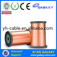 Diameter 0.12mm-3.00mm Copper Clad Aluminum Wire Enameled CCA Wire for Voice Coils