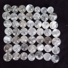 natural rock clear quartz spheres white crystal balls for healing